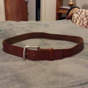 Leather Volcom belt